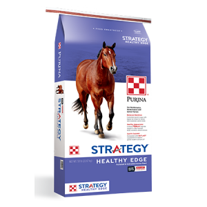Purina Strategy Healthy Edge Horse Feed