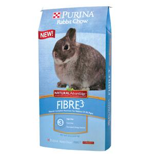 Purina® Rabbit Chow® Fibre3® Wholesome AdvantEdge™
