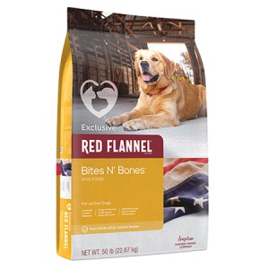 Red Flannel Bites n' Bones
