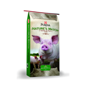Nature's Match Sow and Pig Concentrate Feed