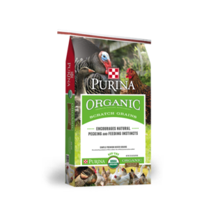 Purina® Organic Scratch Grains Poultry Feed