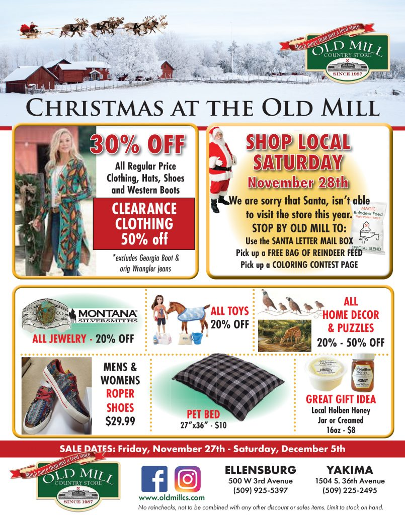 Old Mill Country Store Black Friday Sales Flyer Page 2